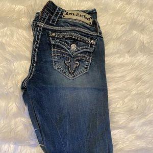 Rock Revival Bootcut Jeans size 25